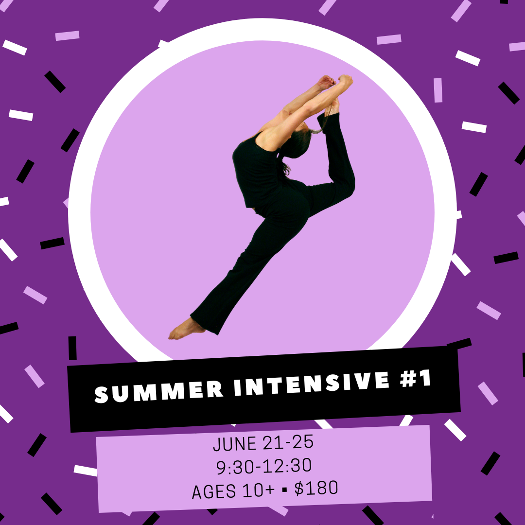 Join us for a week of fitness and fun! Focus on your technique while working through many different styles of dance. Some experience is recommended, but not required.
